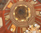Interior view of the central dome's drum. Photo: Shutterstock.com