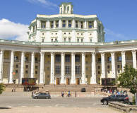 Stalinist Empire Style in Moscow