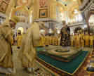 Cathedral of Christ the Saviour. Patriarchal service